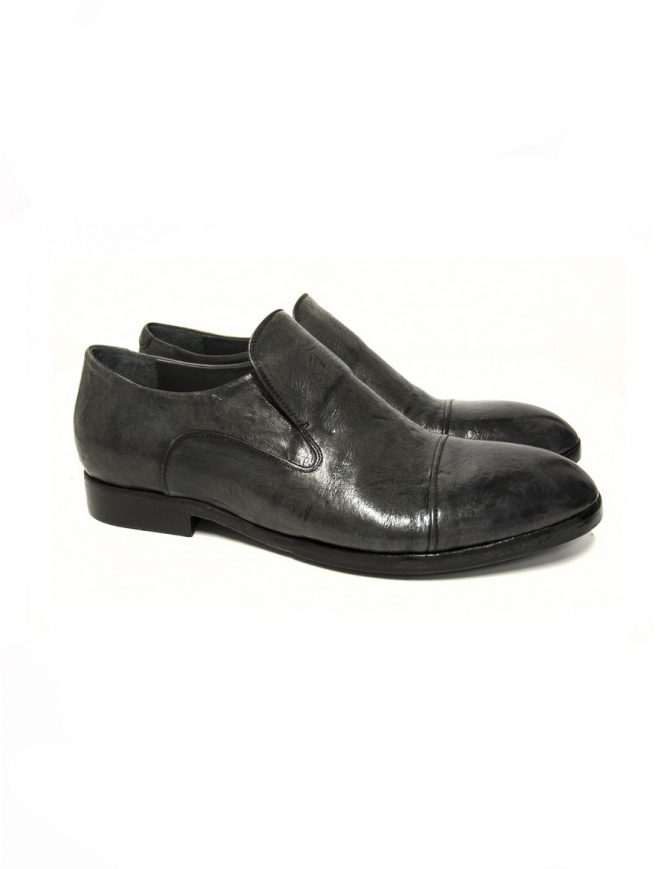 Measponte grey leather shoes RI69021-BUFA mens shoes online shopping