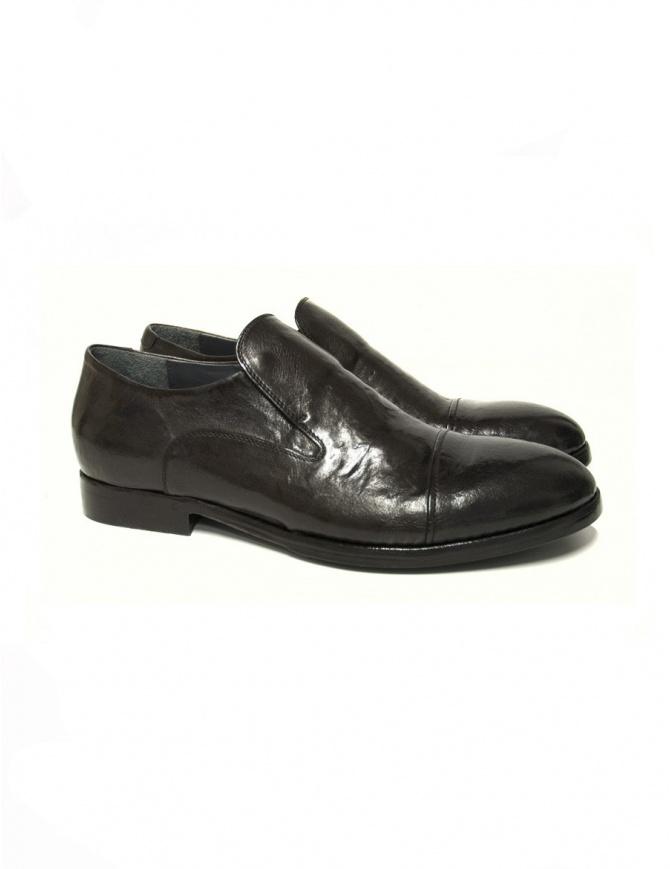 Scarpa Measponte in pelle marrone RI69021-BUFA calzature uomo online shopping