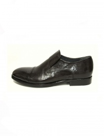 Measponte dark brown leather shoes price