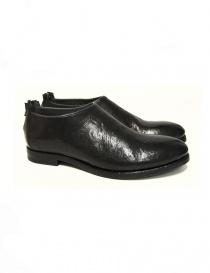 Scarpa Measponte in pelle nera RI60001-BUFA