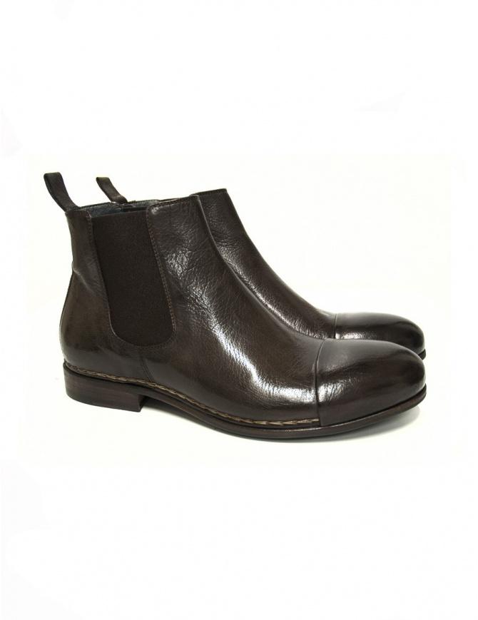 Stivaletto Measponte in pelle marrone RI69014-BUFA calzature uomo online shopping