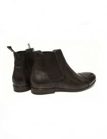 Measponte dark brown leather ankle boots price