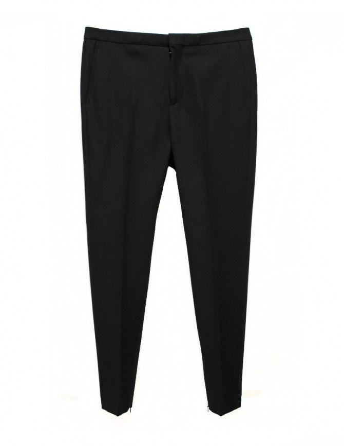 Pantalone Golden Goose Kester in lana nero G29MP508.A1 pantaloni uomo online shopping
