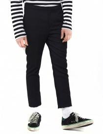 Pantalone Golden Goose Kester in lana nero