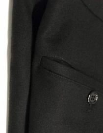 Golden Goose Kester black wool pants mens trousers buy online