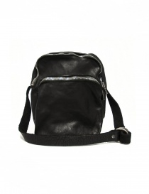 Black leather Guidi BR0 bag online