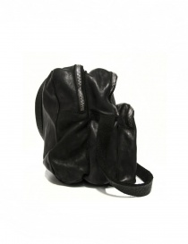 Black leather Guidi BR0 bag buy online