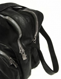 Black leather Guidi BR0 bag price