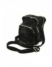 Black leather Guidi BR0 bag bags buy online