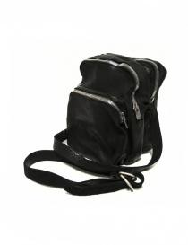 Borsa Guidi BR0 in pelle nera borse acquista online