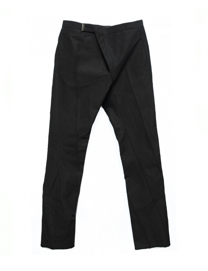 Carol Christian Poell Asymmetrical Breadstick trousers PM2505-LINKS mens trousers online shopping