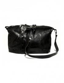 Delle Cose 03-S leather bag 03-S-BLK-HOR