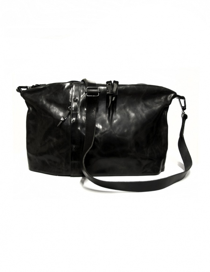 Delle Cose 03-S leather bag 03-S-BLK-HOR bags online shopping