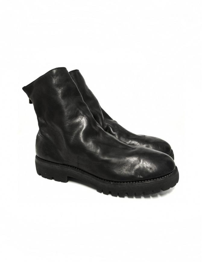 Stivaletto Guidi 796V in pelle nera 796V-HORSE-FG calzature uomo online shopping