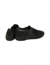Black leather Guidi 109 shoes price
