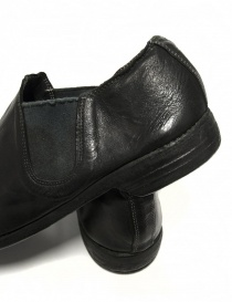 Black leather Guidi 109 shoes mens shoes buy online