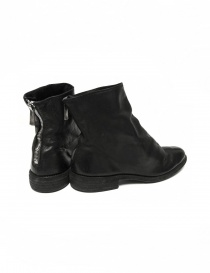 Black leather ankle boots 0X08A Guidi