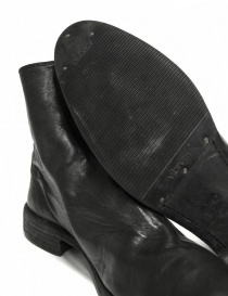 Black leather ankle boots 0X08A Guidi price