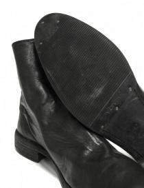 Stivaletto Guidi 0X08A in pelle nera prezzo