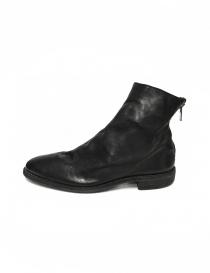Stivaletto Guidi 0X08A in pelle nera calzature uomo acquista online