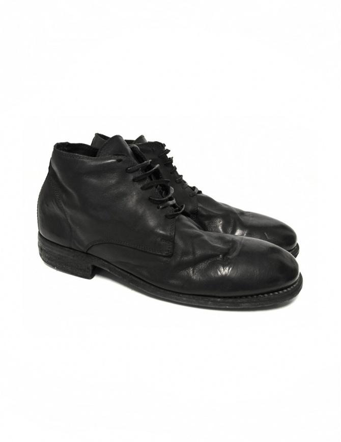 Scarpa Guidi 994 in pelle nera 994 KANGAROO FGCV BLK calzature uomo online shopping
