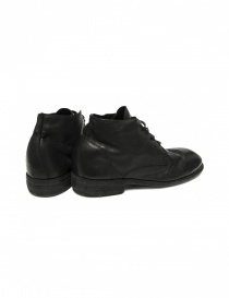 Black leather Guidi 994 shoes price
