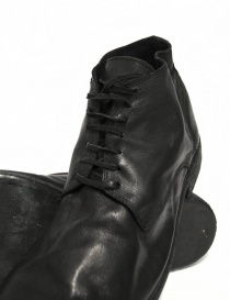 Black leather Guidi 994 shoes mens shoes buy online