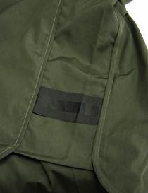 Camicia OAMC verde militare con bordo elastico prezzo