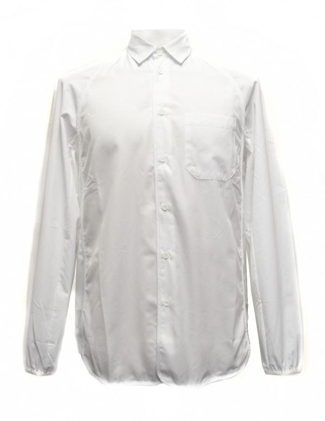 Camicia OAMC bianca con elastico in vita e sui polsi I022288 WHT camicie uomo online shopping