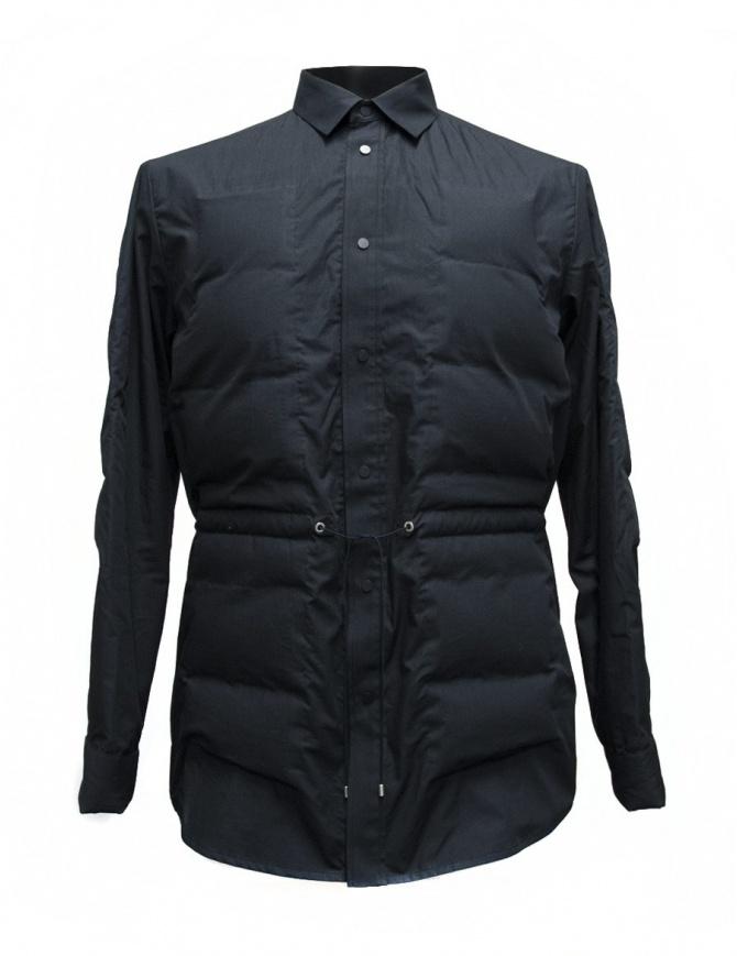OAMC navy down shirt I022291-NAVY mens shirts online shopping