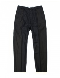 OAMC navy blue wool trousers I022280 NAVY order online