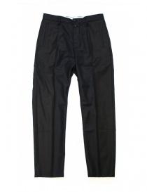 Pantalone OAMC blu navy in lana I022280 NAVY order online