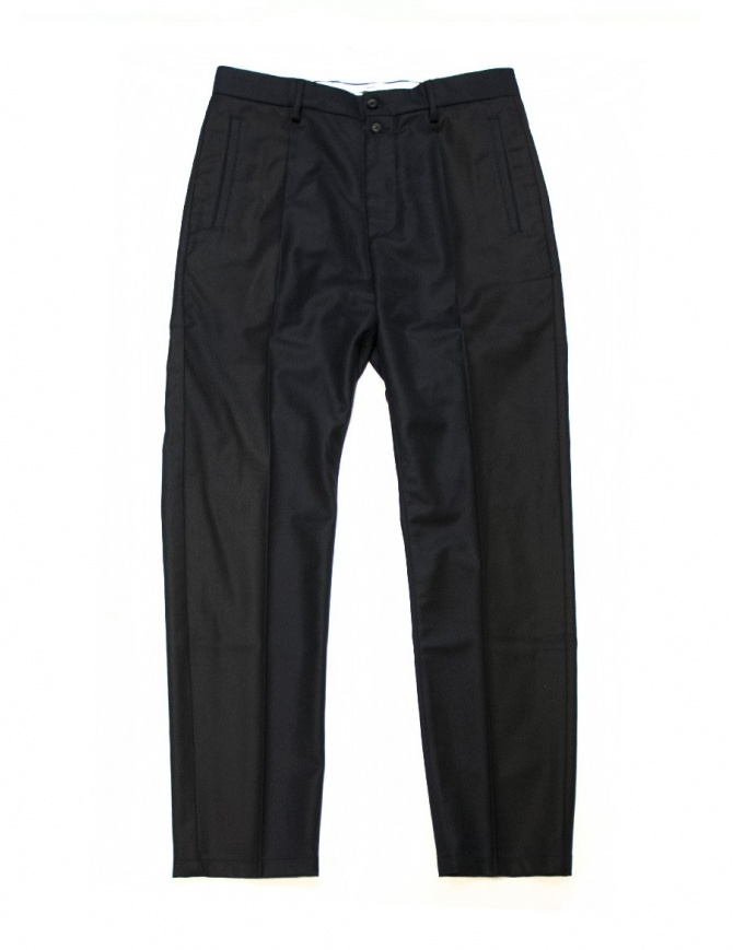 OAMC navy trousers I022280-NAVY mens trousers online shopping