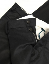 OAMC navy blue wool trousers buy online