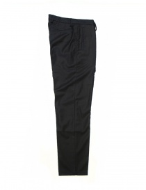 OAMC navy blue wool trousers price