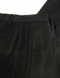Pantalone OAMC blu navy in lana pantaloni uomo acquista online