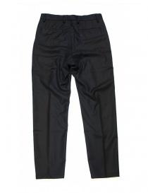 Pantalone OAMC blu navy in lana pantaloni uomo prezzo