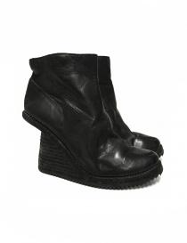 Calzature donna online: Stivaletto Guidi 6006V in pelle nera