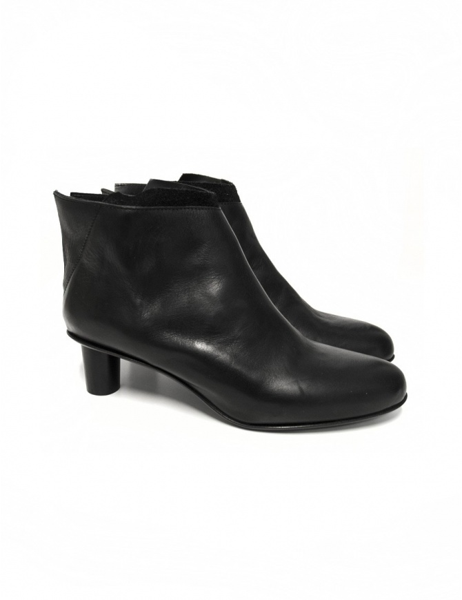 Barny Nakhle black leather shoes TINO-SHINY-C womens shoes online shopping