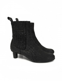 Barny Nakhle black leather ankle boots BENNY-CALF-C order online