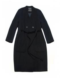 Cappotti donna online: Cappotto Fadthree colore nero navy