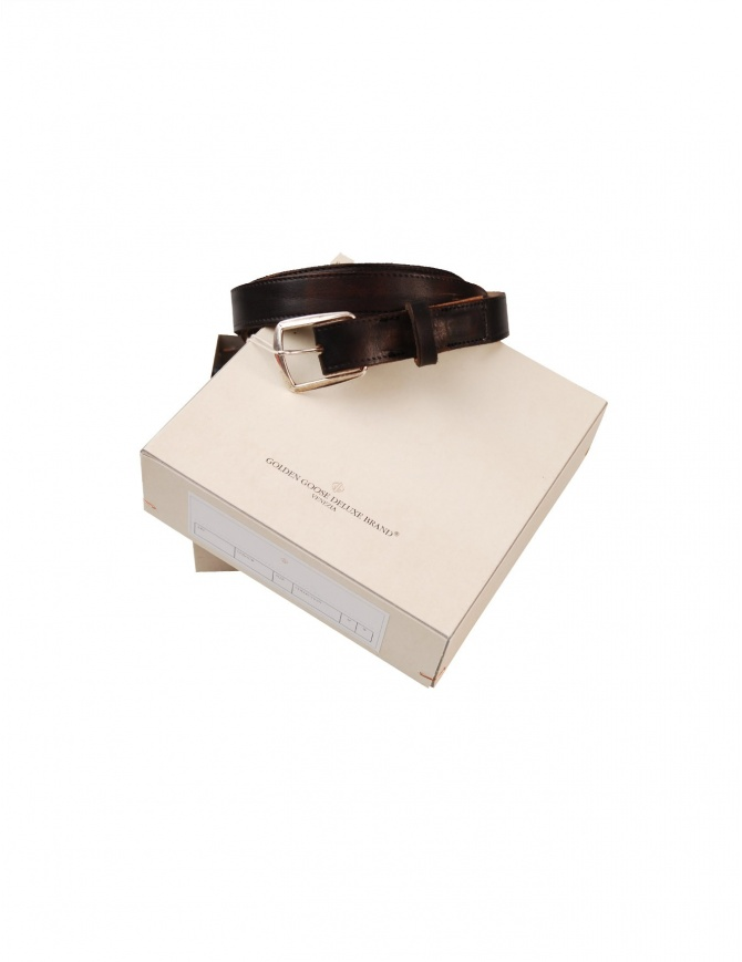 Leather Golden Goose belt G18U802 A1 B belts online shopping