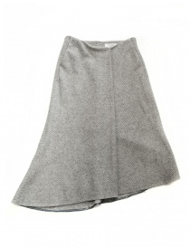 Fadthree light grey asymmetric skirt online