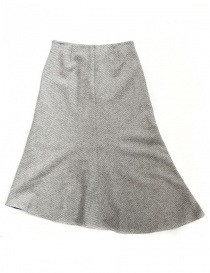 Fadthree light grey asymmetric skirt