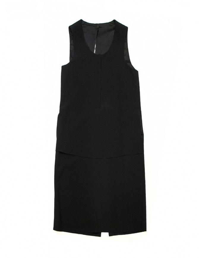 Sara Lanzi tank-top black dress 02B.VWE.09 BLK womens dresses online shopping