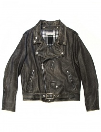 Golden Goose chiodo leather jacket online