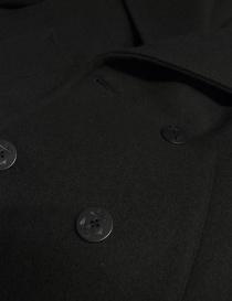 Cappotto Golden Goose Ian colore nero cappotti uomo acquista online