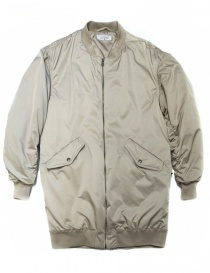 Womens jackets online: Fadthree padded jacket cream color