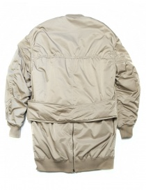 Fadthree padded jacket cream color buy online