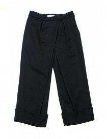 Fadthree black navy trousers online